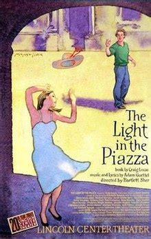 the light in the piazza the light in the piazza musical
