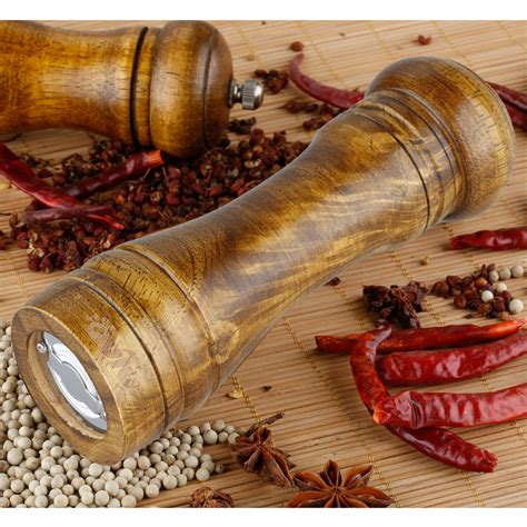 outu   natural wood cooking tools pepper salt