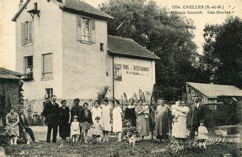 la grande maison chelles chelles restaurant maison escaich iles mortes cartes postales anciennes