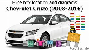 Fuse Box Location And Diagrams  Chevrolet Cruze  J300