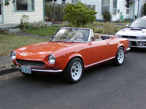1968 Fiat Spider by 1968 Fiat 124 Information And Photos Momentcar