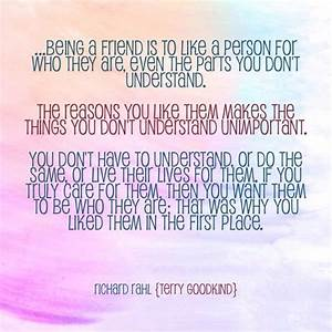 Richard Rahl - ... Terry Goodkind Love Quotes