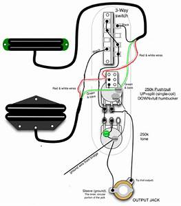 Parallel Wiring Diagram Hot Rails Neck