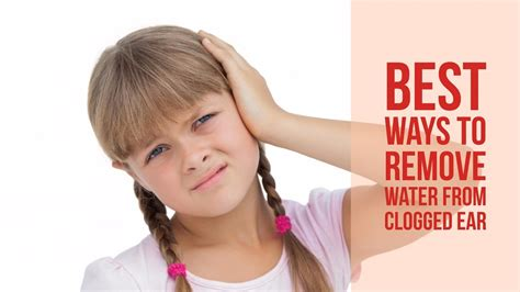 How To Get Water Out Of Your Ear  Unclogged Your Ears