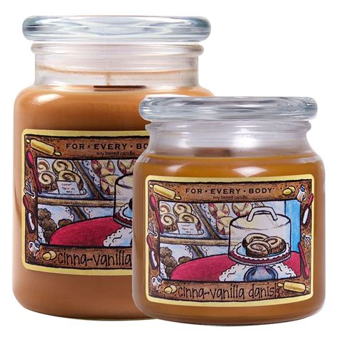 for every body soy jar candle large 21 oz cinna vanilla