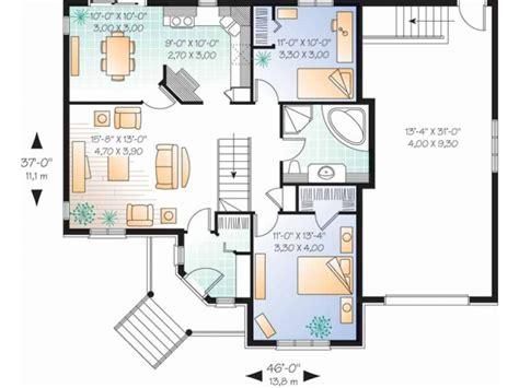 2 bedroom cottage plans 2 bedroom single house plans lots blueprints 3