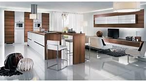 deco cuisine ouverte design With idee deco cuisine ouverte