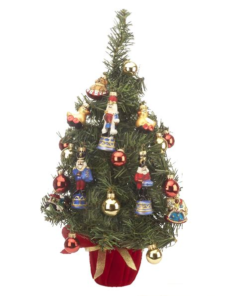 mini tree with ornaments christmas ornament home