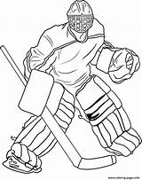 Hockey Coloring Goalie Pages Printable Colouring Ice Sheets Capitals Print Washington Sports Drawing Template Info Boys Zach Player Goalies Jersey sketch template