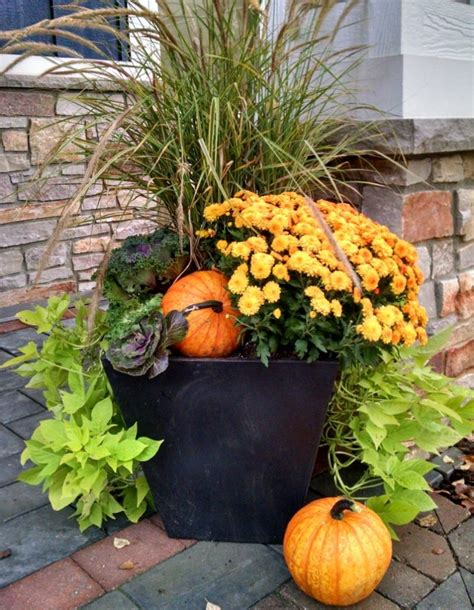 Add Seasonal Color With Fall Container Gardens Reder