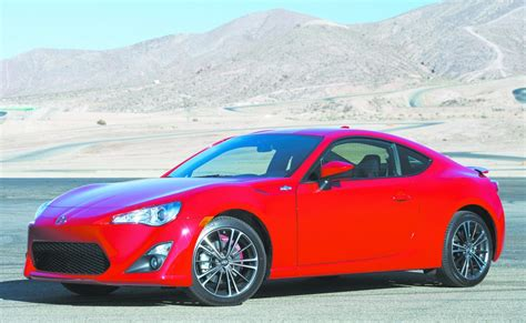 scions fr    small  door coupe  offers sporty