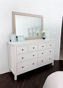 Ikea Hemnes Hack : ikea hemnes dresser paint knobs metallic color idea clear mat for makeup area so desk stays ~ Markanthonyermac.com Haus und Dekorationen