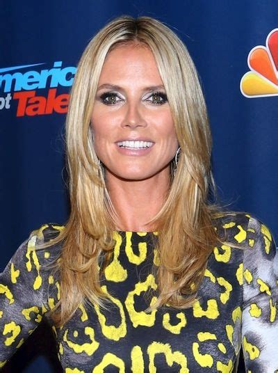 Heidiklumhair Heidi Klum Americas Got Talent Hair On