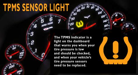 tpms light on tire pressure sensor replacement tpms set of 4 for 2012