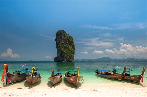 Amazing Scenery And Beaches Of Krabi Thailand Goway