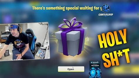 ninja   speacial gift  fortnite fortnite battle