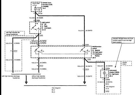 Bumper Ford Focus Wiring Diagram Pdf Database
