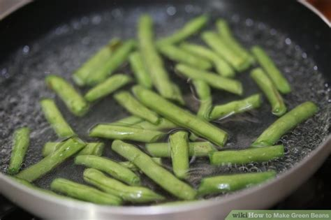 ways to cook green beans 5 ways to make green beans wikihow