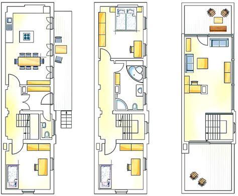 Schmales Haus Grundriss by Grundriss Schmales Haus
