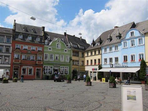 The Marketplace in Wittlich, Germany