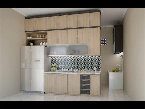 dapur bersih  dapur kotor dian interior design