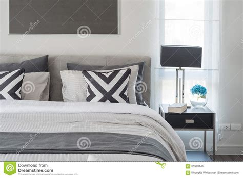 Chambre Moderne Noir Et Blanc Style Moderne Noir Et Blanc De Chambre 224 Coucher Avec La
