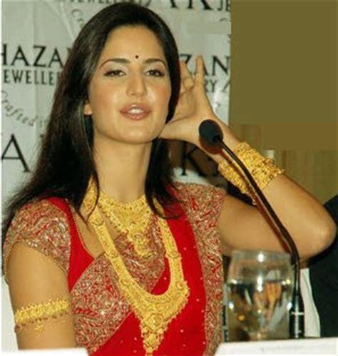 indian jewellery design katrina kaif  traditional gold