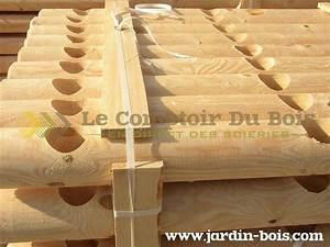 Rondin De Bois Pour Jardin : bois ronds jardin bois ~ Edinachiropracticcenter.com Idées de Décoration
