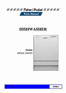 Fisher And Paykel Dw920 Manual