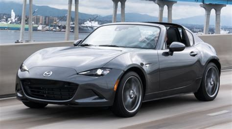 mazda mx  miata rf pricing  specs
