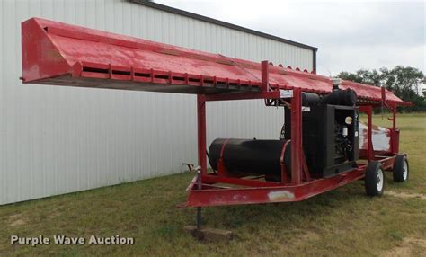 air curtain destructor burning construction equipment auction colorado auctioneers
