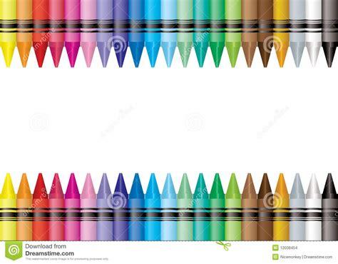 border crayon stock images image