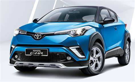 2019 Toyota Chr Introduced In Malaysia  New Colour