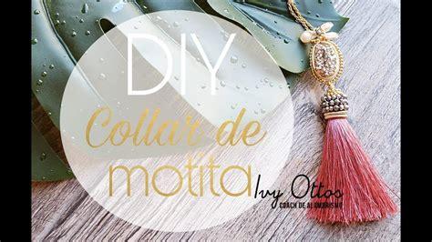 DIY tutorial collar de motita alambrismo YouTube