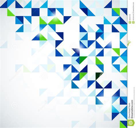 blue green modern geometric design template royalty free