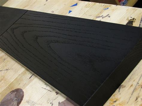 ebonizing ash   cool effect   texture