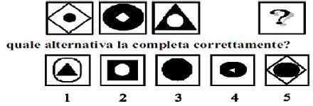 Test Logica Figure by Test E Quiz Logica E Cultura Generale Quinto Test