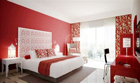 These Red Bedrooms Are Better For Feng Shui-dream Home Ideas
