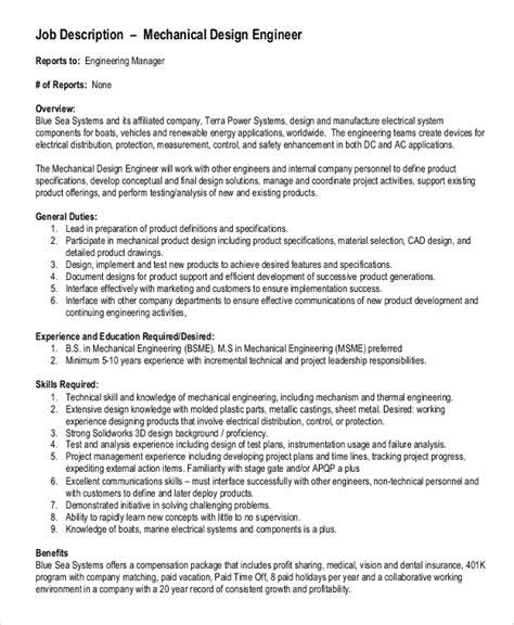 sle mechanical engineering description 10