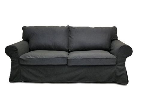 Custom Sleeper Sofa by Grey Slipcovered Sofa Custom Ikea Ektorp Sleeper Sofa