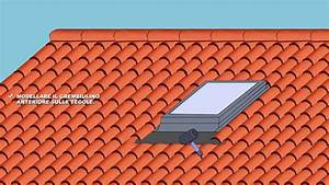 Come installare una finestra per tetto in cemento (tegole