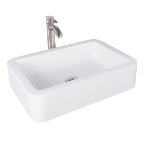 what is matte stone sink vigo navagio matte stone vessel sink in white with otis