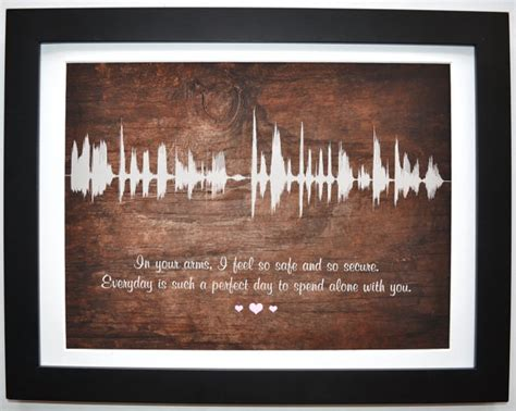 2nd anniversary gift 2nd anniversary gifts for men cotton canvas by creativewaveprints