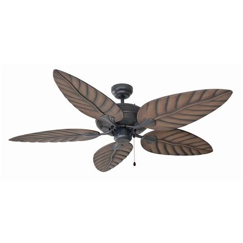 rubbed bronze ceiling fan light kit design house martinique 52 in rubbed bronze ceiling