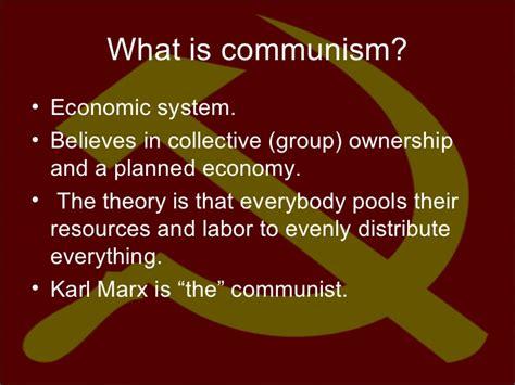 Communism & Capitalism Notes