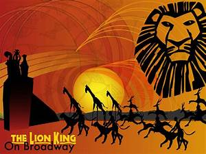 Lion king On Broadway Abstract by Samoht-Lion on DeviantArt