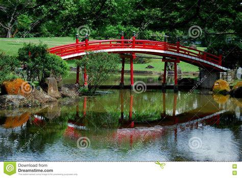 Japanischer Garten Singapur by Singapur Japanische Garten Br 252 Cke Stockfoto Bild
