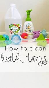 how to clean bath toys naturally without bleach mommy With bleach to clean bathroom