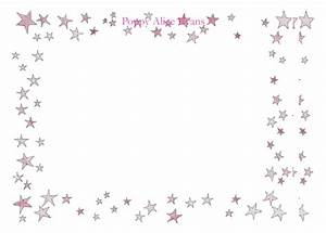 The gallery for --> Pink Stars Border