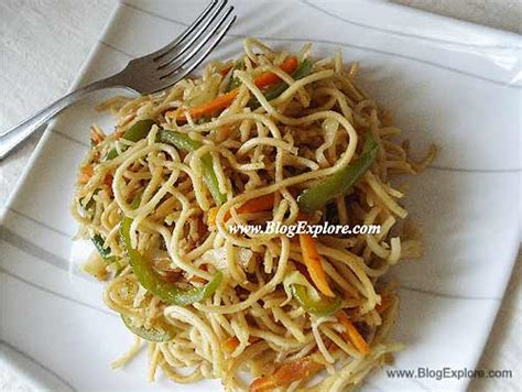 hakka cuisine recipes vegetable hakka noodles indian recipes blogexplore